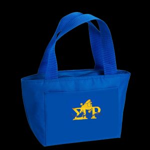 SGR Insulated Lunch Tote Blue or Gold With G673 or G672