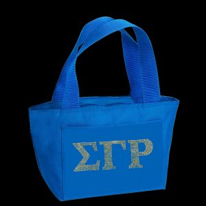 SGR Insulated Lunch Tote Blue or Gold With Studstone