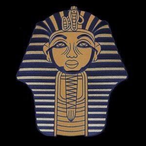APA 10″T Sphinx Emblem Gold W/Heat Seal Backing