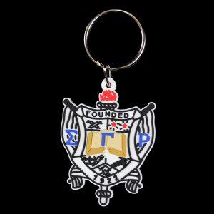SGR PVC Crest Key Chain