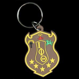 IPT Pvc Crest Key Chain