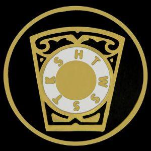 Mason Royal Arch Keystone Lapel Pin- 1″