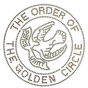 Order Of The Golden Circle Studstonetransfer- 7 3/4″