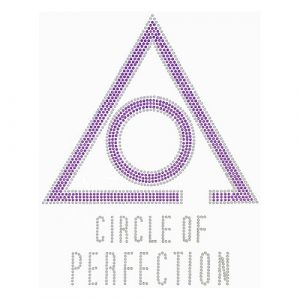 Circle Of Perfection Studstone Transfer- 7″W X 8 7/8″T