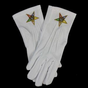 White Gloves W/OES Emblems