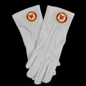 White Gloves W/HOJ Emblems