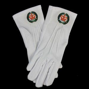 White Gloves W/Amaranth