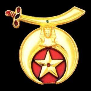 Shriner Cut Auto Emblem- 2 3/4″