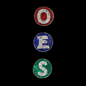 OES 3 Snap Button Letter Set
