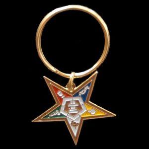 OES Eastern Star Key Chain