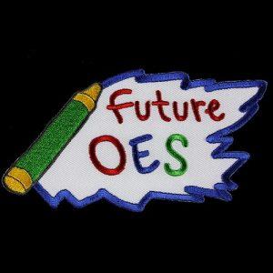 OES 5″ W Future Emblem W/Heat Seal Backing