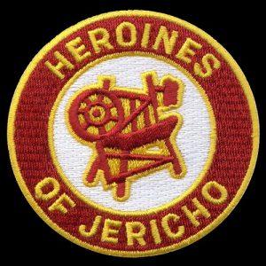 Heroines Of Jericho 1 1/2″ Emblem W/Heat Seal Backing