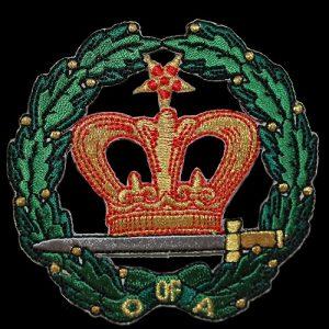 Amaranth 1 1/2″ Embroidered Emblem
