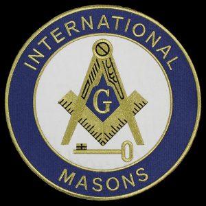 International Mason 10 1/2″ Emblem W/Heat Seal Backing