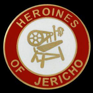 Heroines Of Jericho Lapel Pin- 1″