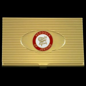 Heroines Of Jericho Business Card Holder