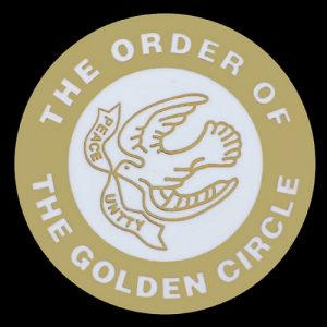 The Order Of The Golden Circle Lapel Pin- 1″