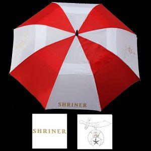 Shriner 30″ Wind Resistant Auto Open Umbrella