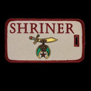 Shriner Luggage Tag