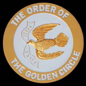 Order Of The Golden Circle Car Tag