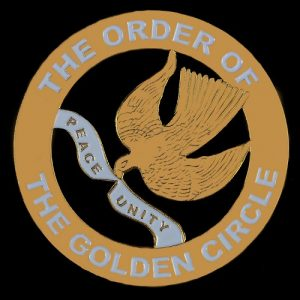 Order Of The Golden Circle Cut Out Car Tag