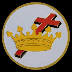 Ladies Cross & Crown/Cyrene Car Tag