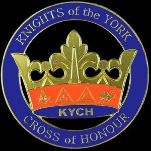 Knights Of The York Cross Of Honour Cut Out Car Tag