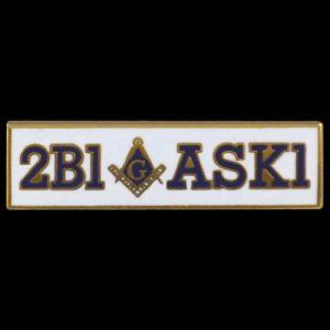 Mason 2B1ASK1 Lapel Pin
