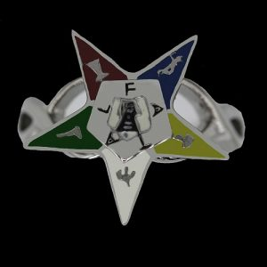 OES Star Ring In Silver