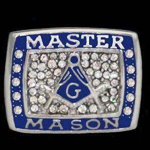 Mason Championship Ring With Stones