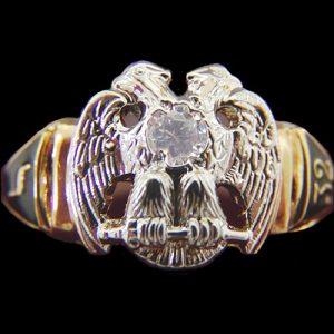 Scottish Rite Ring
