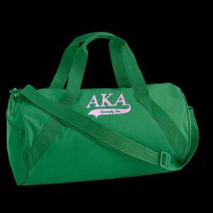 AKA Barrel Duffle Bag W/Tail