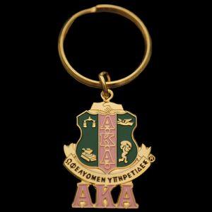 AKA Shield Key Chain 1-1/2 x 1/8″ (shield size only)