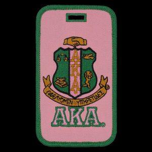 AKA Shield Luggage Tag
