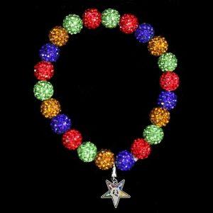 OES Stone Bead Bracelet w/ Star