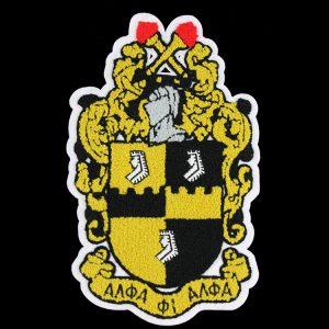 "APA Chenille Shield 10 1/2"" Emblem w/ Heat Seal Backing"
