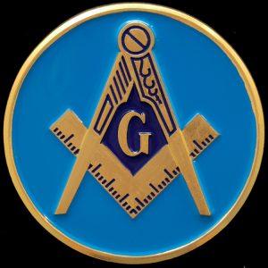Mason Auto Emblem- 2 3/4″