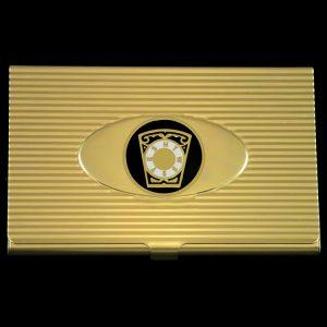Mason Royal Arch Keystone Business Card Holder
