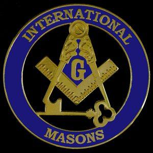 International Mason Cut Out Car Tag