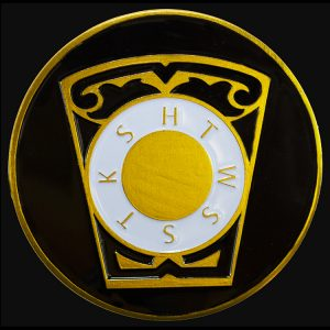 Mason Royal Arch Keystone Car Tag