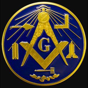 Masonic Working Tools Car Tag