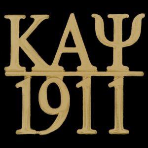 KAP/1911 Chapter Bar Lapel Pin In Gold