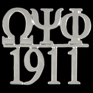 OPP/1911 Chapter Bar Lapel Pin In Silver