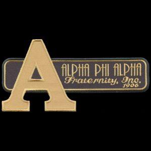 APA Black W/Gold Retro Emblem