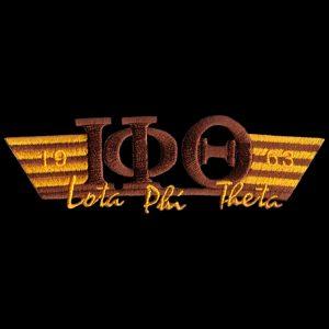 IPT Two Tone 3-N-1 Brown W/Gold Emblem W/Heat Seal Backing – 4 3/4″W