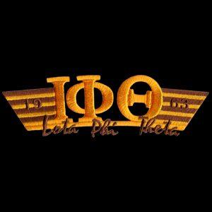 IPT Two Tone 3-N-1 Gold W/Brown Emblem W/Heat Seal Backing – 4 3/4″W