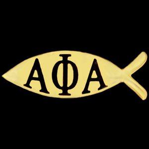 APA 1″W Fish Lapel Pin