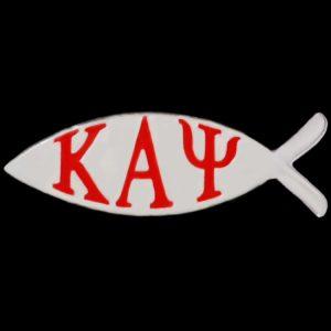 KAP 1″W Fish Lapel Pin