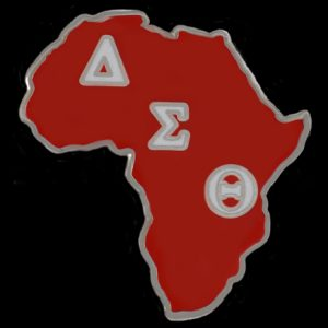 DST 1″ Africa Lapel Pin