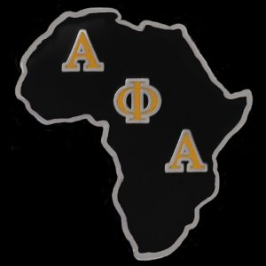 APA 1″ Africa Lapel Pin